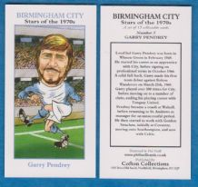 Birmingham City Garry Pendry 5